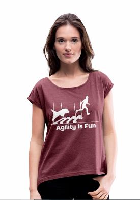 Frauen T-Shirt Agility